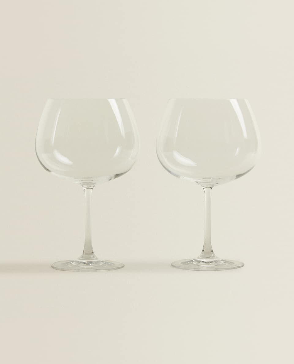 CRYSTALLINE WINE GLASS (PACK OF 2)
