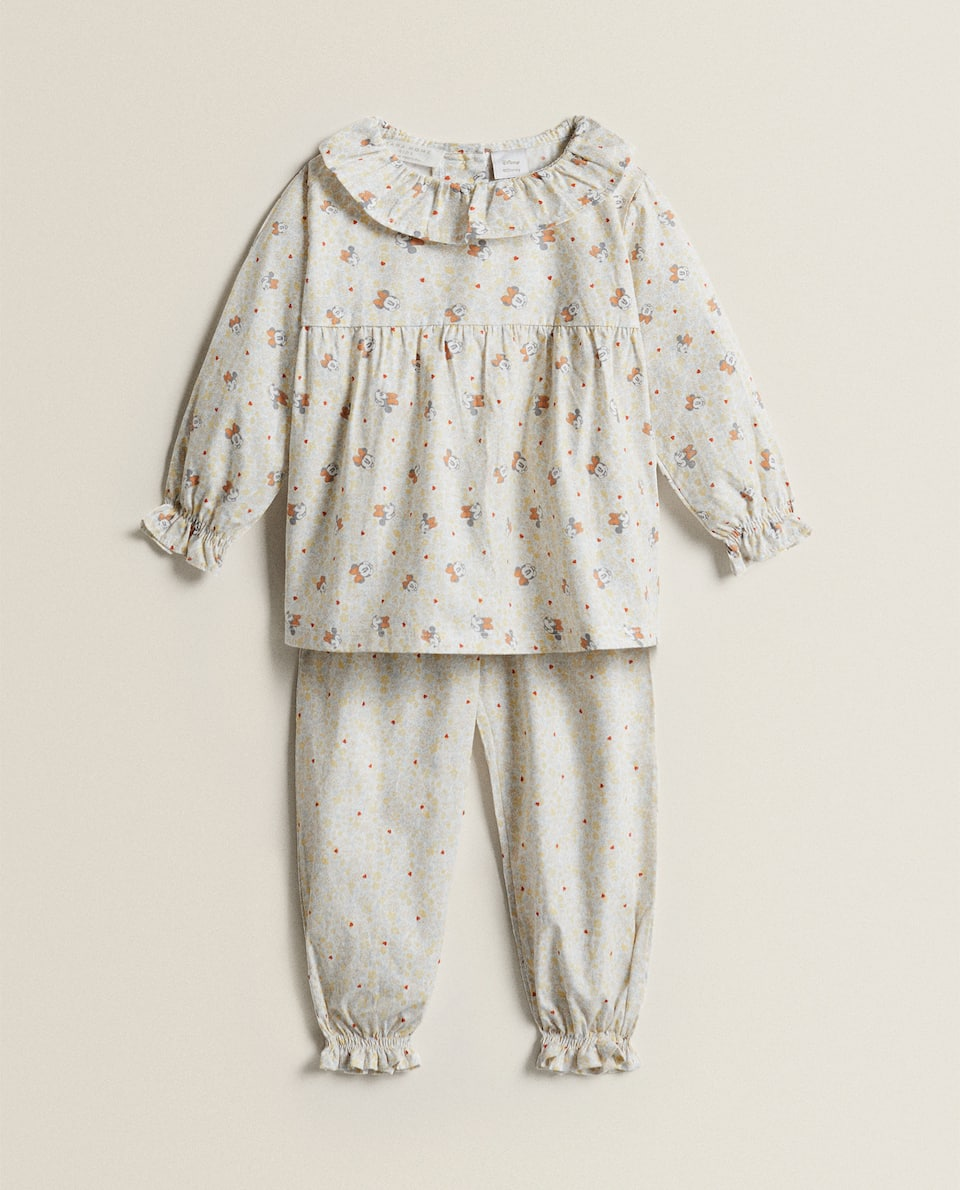 COTTON PYJAMAS WITH MINNIE PRINT