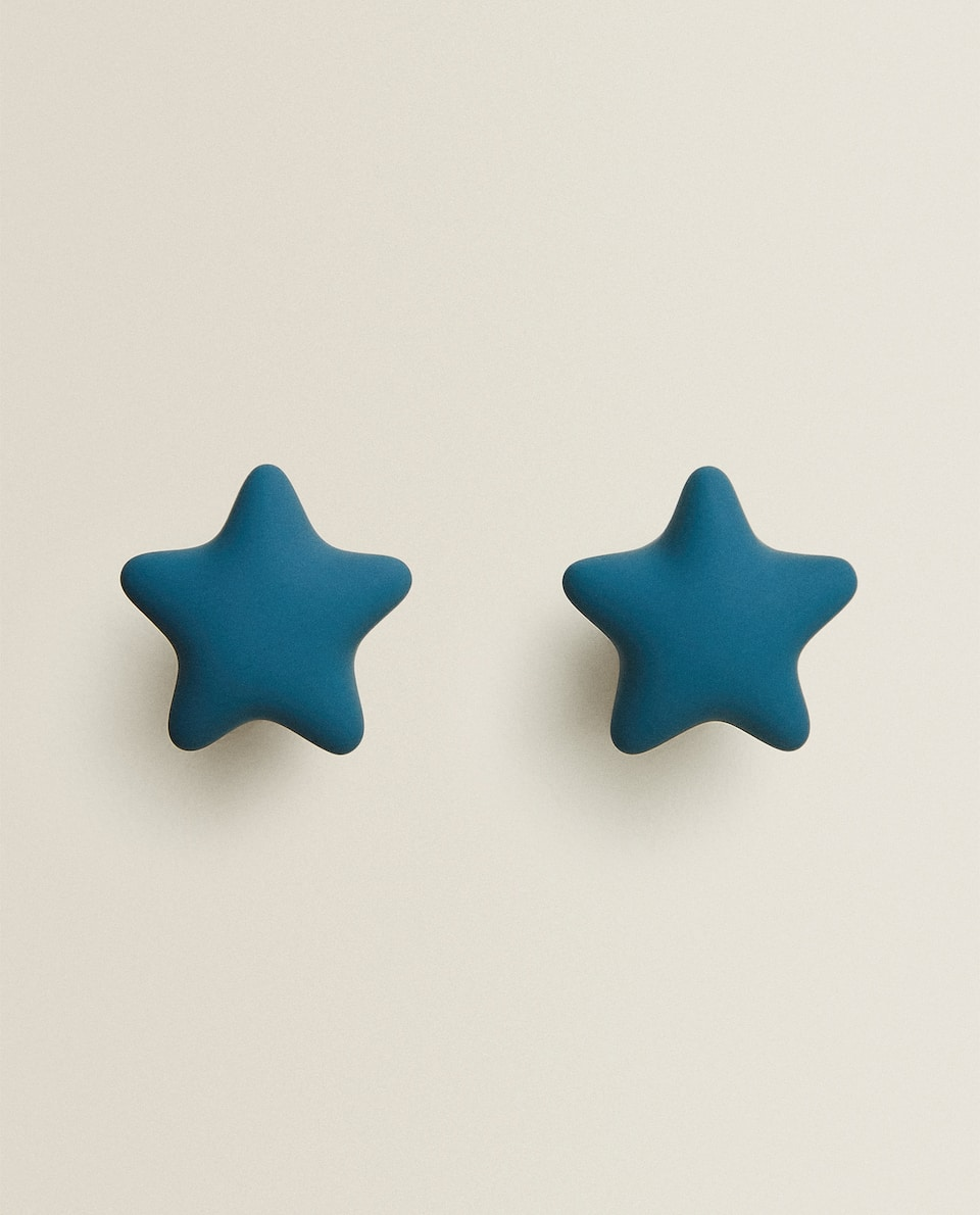 BLUE STAR DOOR KNOBS (PACK OF 2)