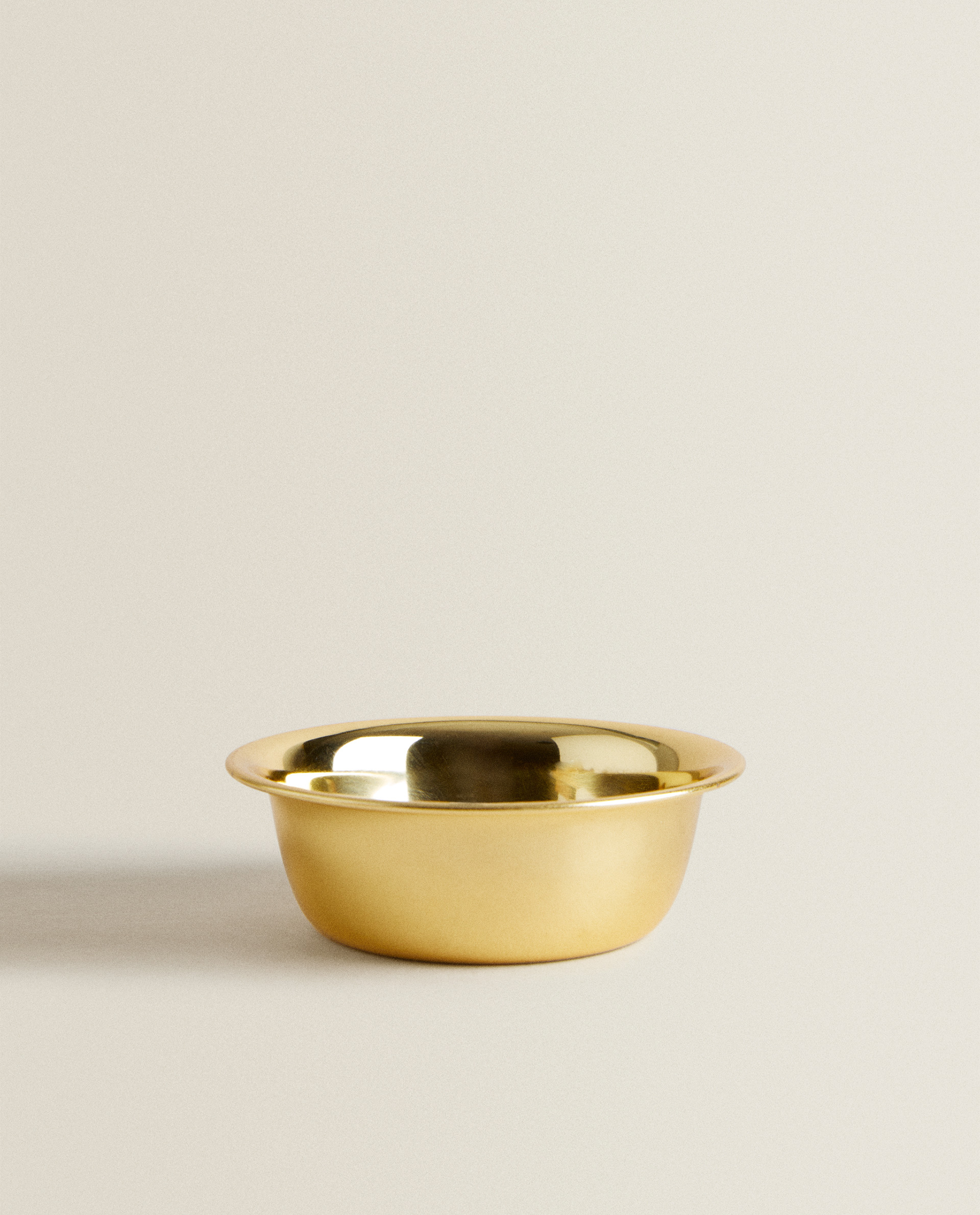 SHINY GOLD BOWL