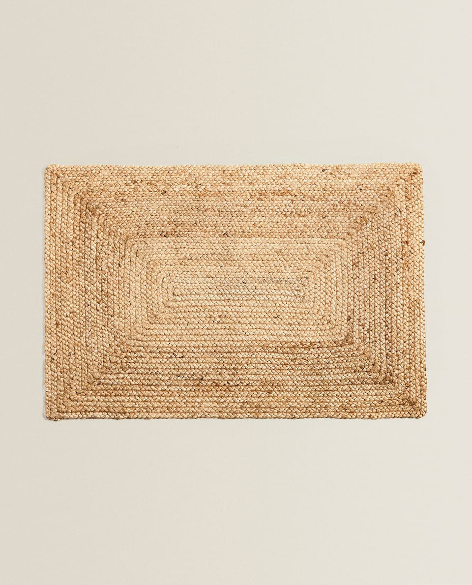 PAILLASSON RECTANGULAIRE JUTE