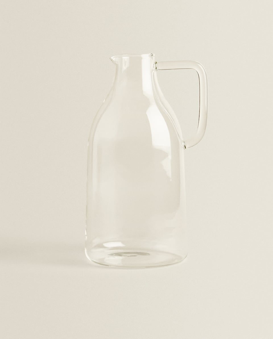 LARGE BOROSILICATE PITCHER