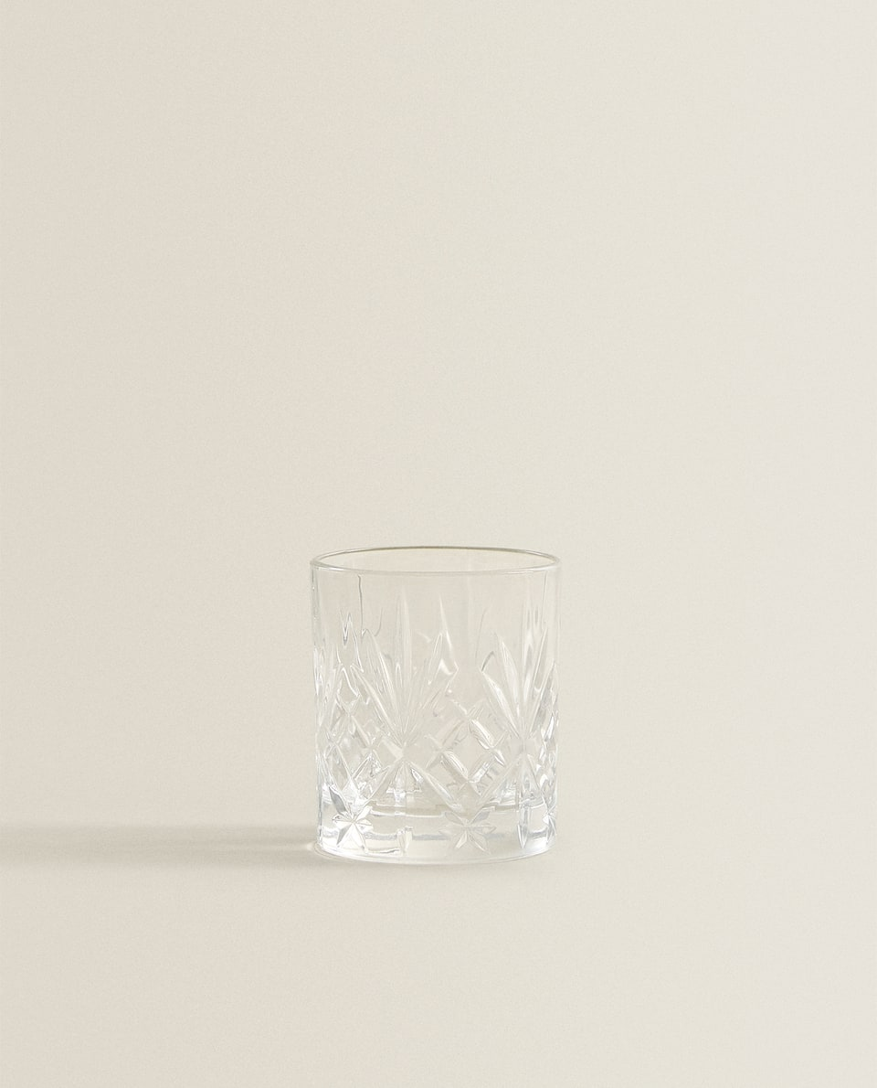 ENGRAVED CRYSTALLINE SHOT GLASS