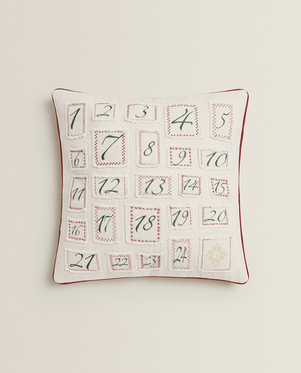 ADVENT CUSHION COVER