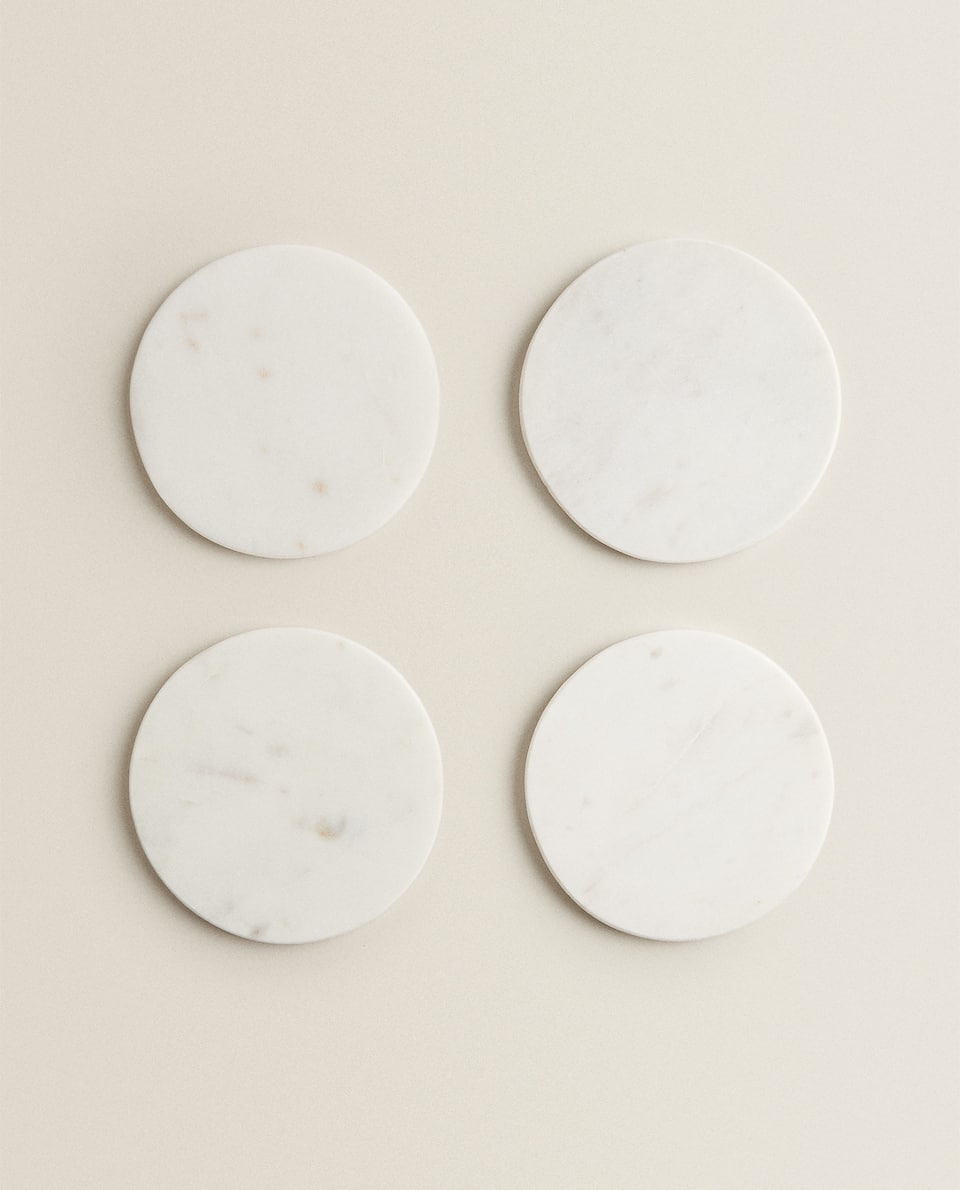 MARBLE COASTER (PACK OF 4)