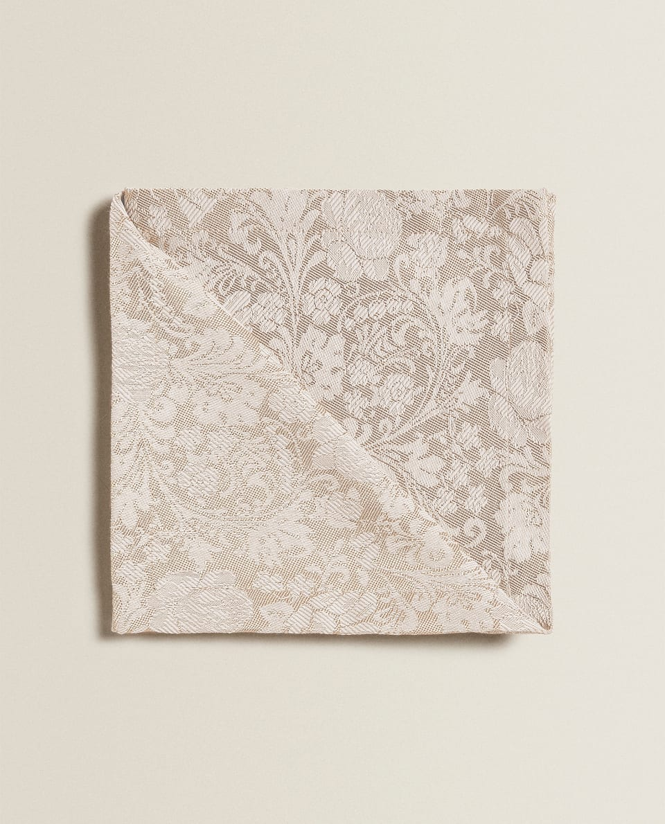 LACE TRIM NAPKINS (SET OF 4)