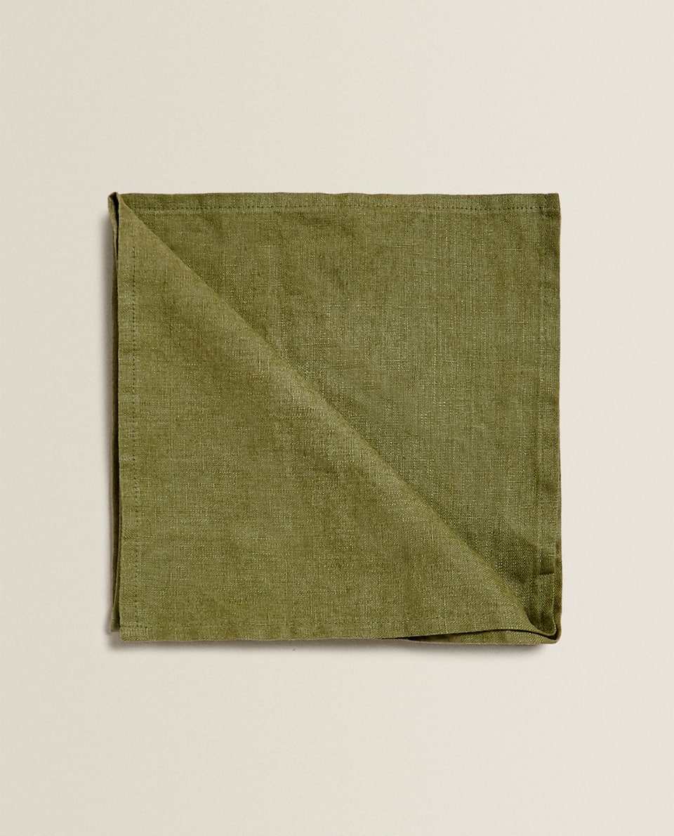SERVIETTE DE TABLE EN LIN (LOT DE 2)