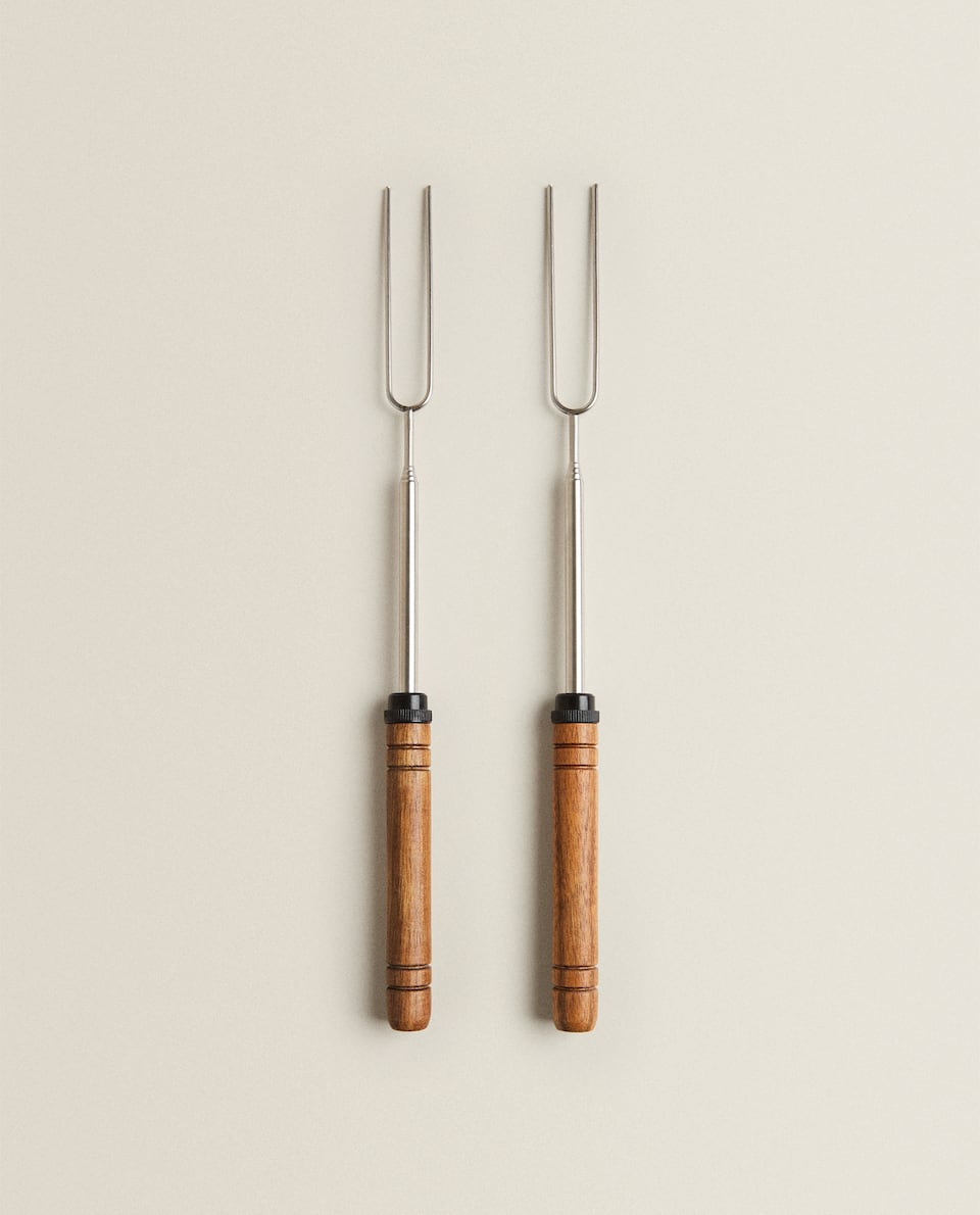 BARBECUE TELESCOPIC SKEWERS (PACK OF 2)