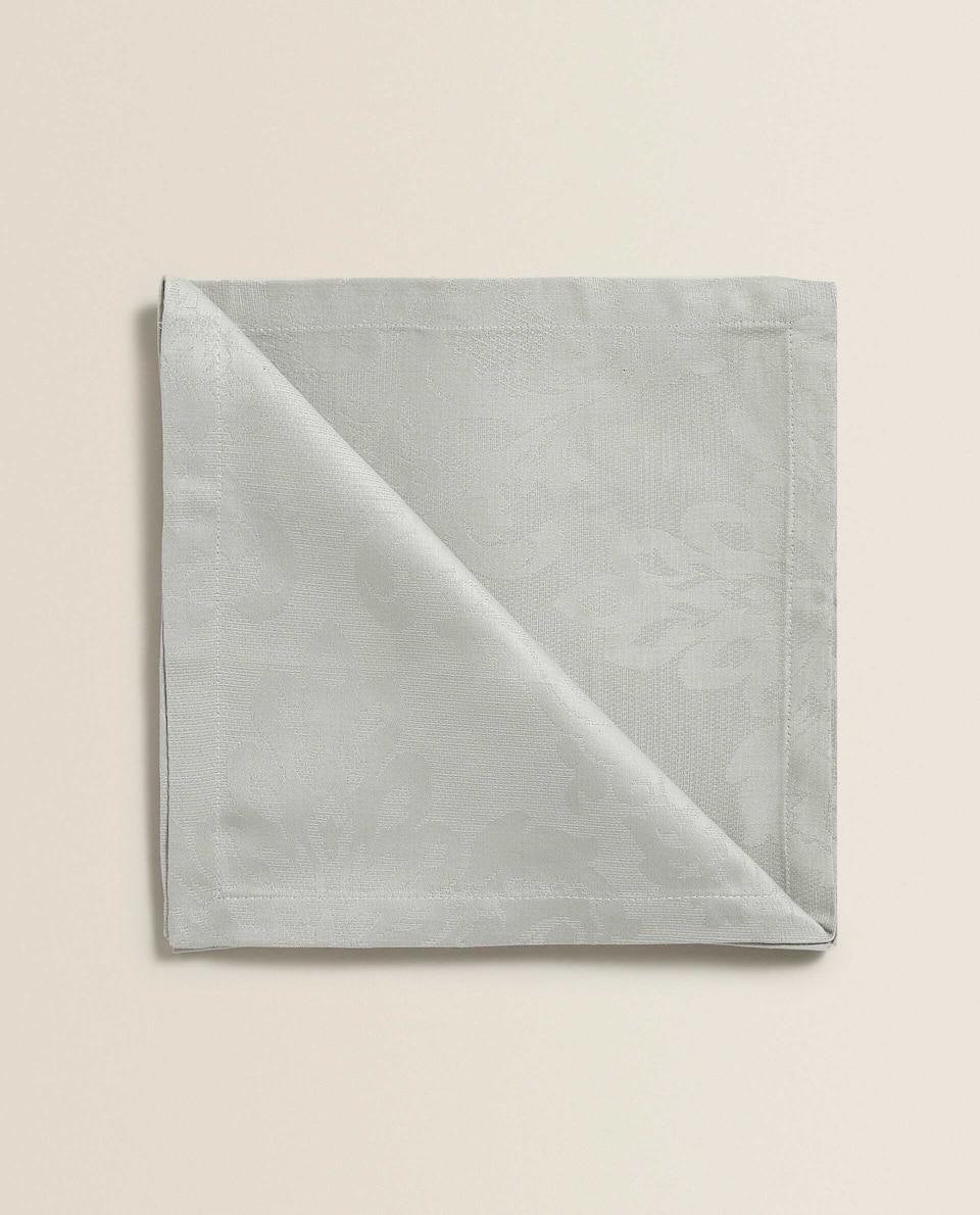 COTTON JACQUARD NAPKIN (SET OF 2)