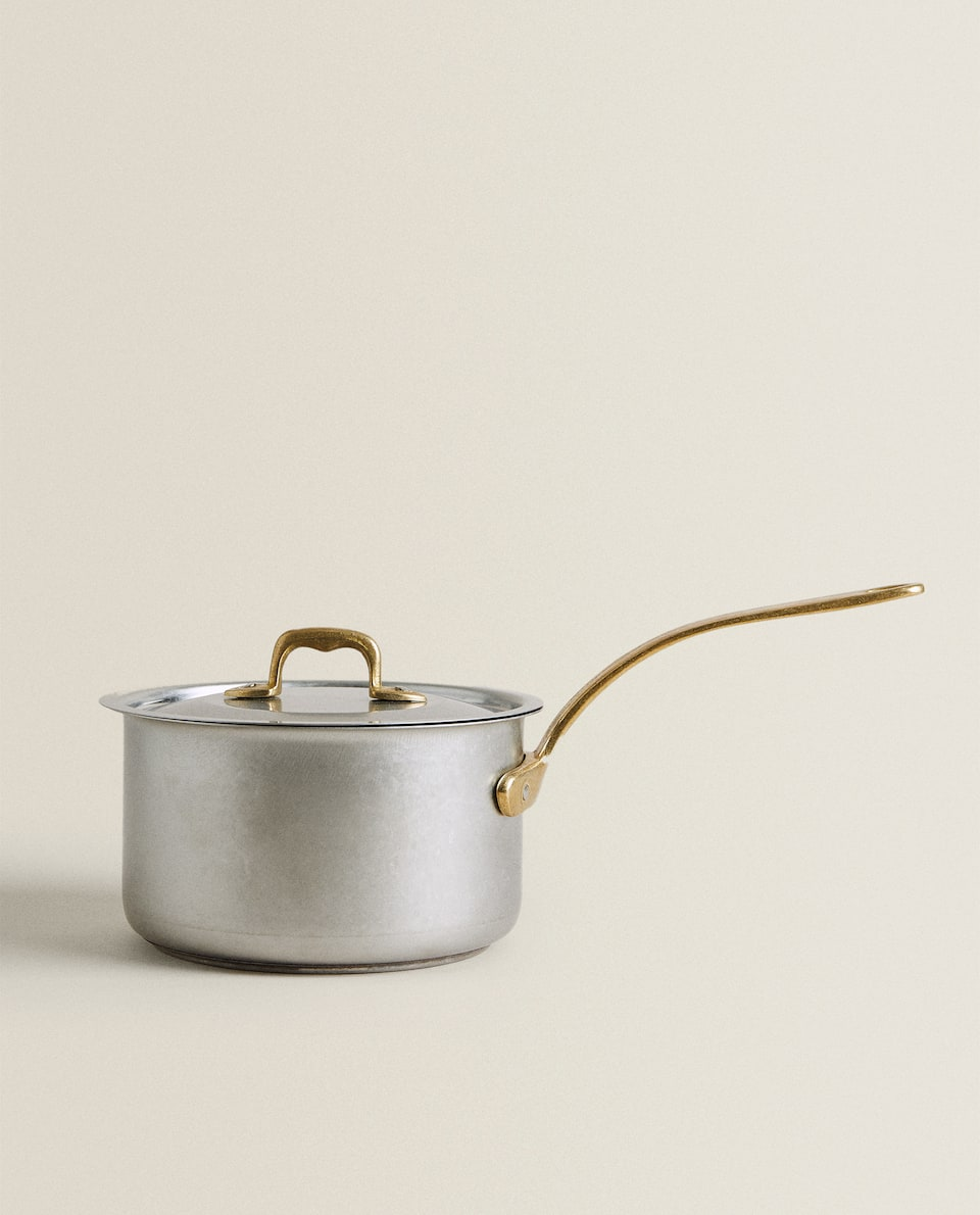 STAINLESS STEEL POT WITH LID