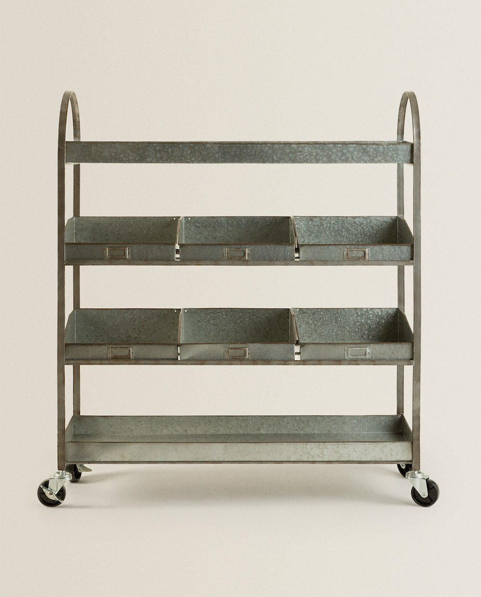 GALVANIZED FURNITURE WITH WHEELS