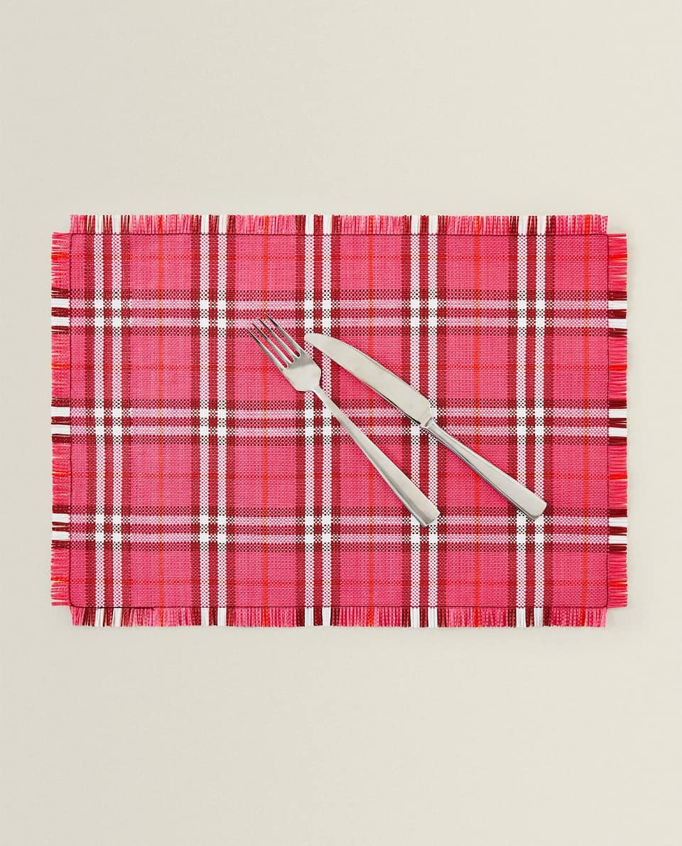 CHECK PLACEMAT (PACK OF 2)