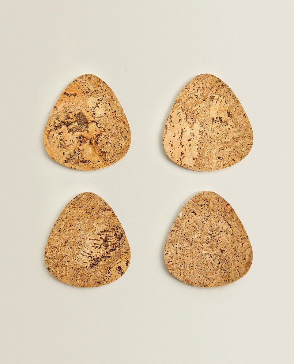 CORK COASTER (PACK OF 4)