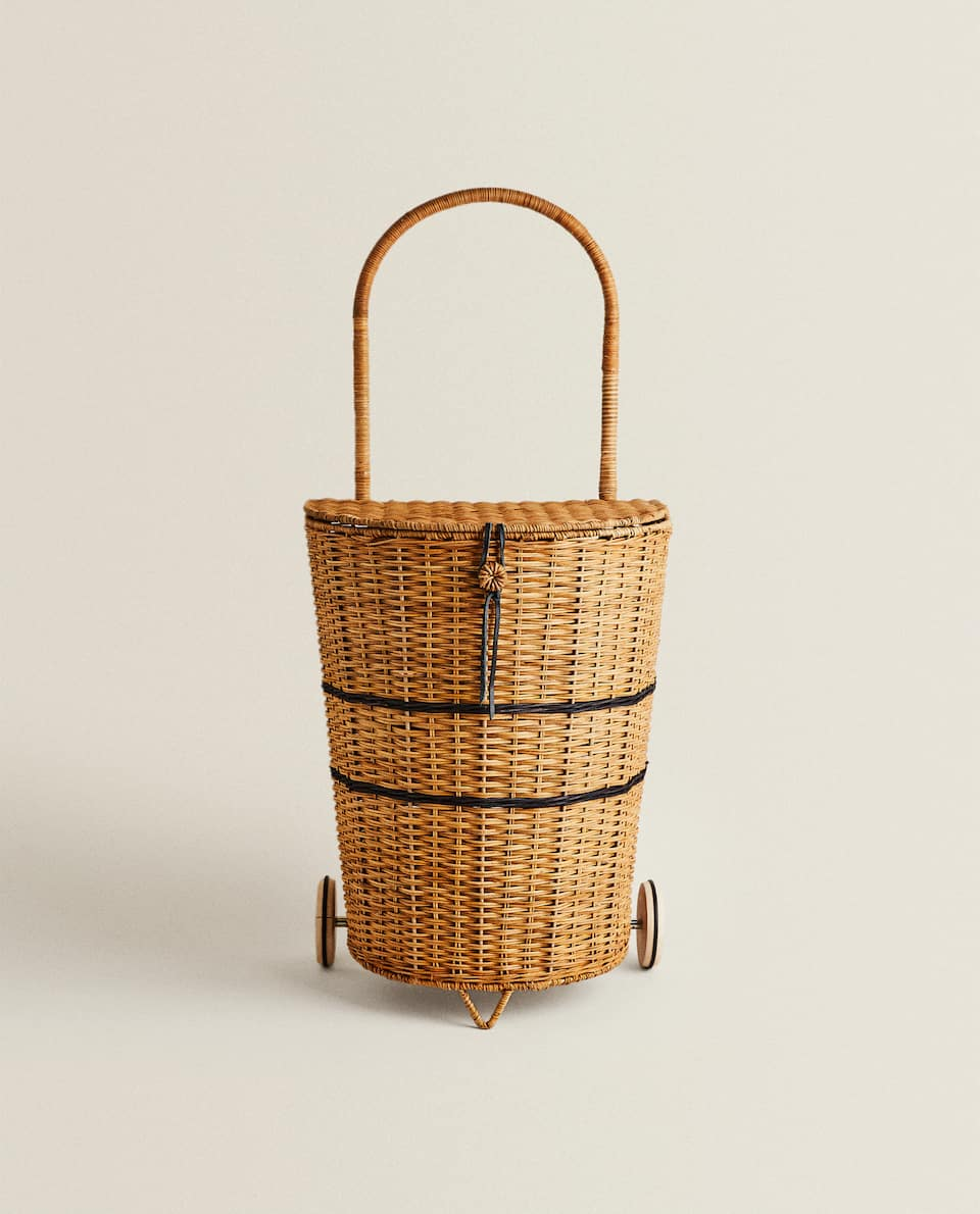 PICNIC TROLLEY WITH LID