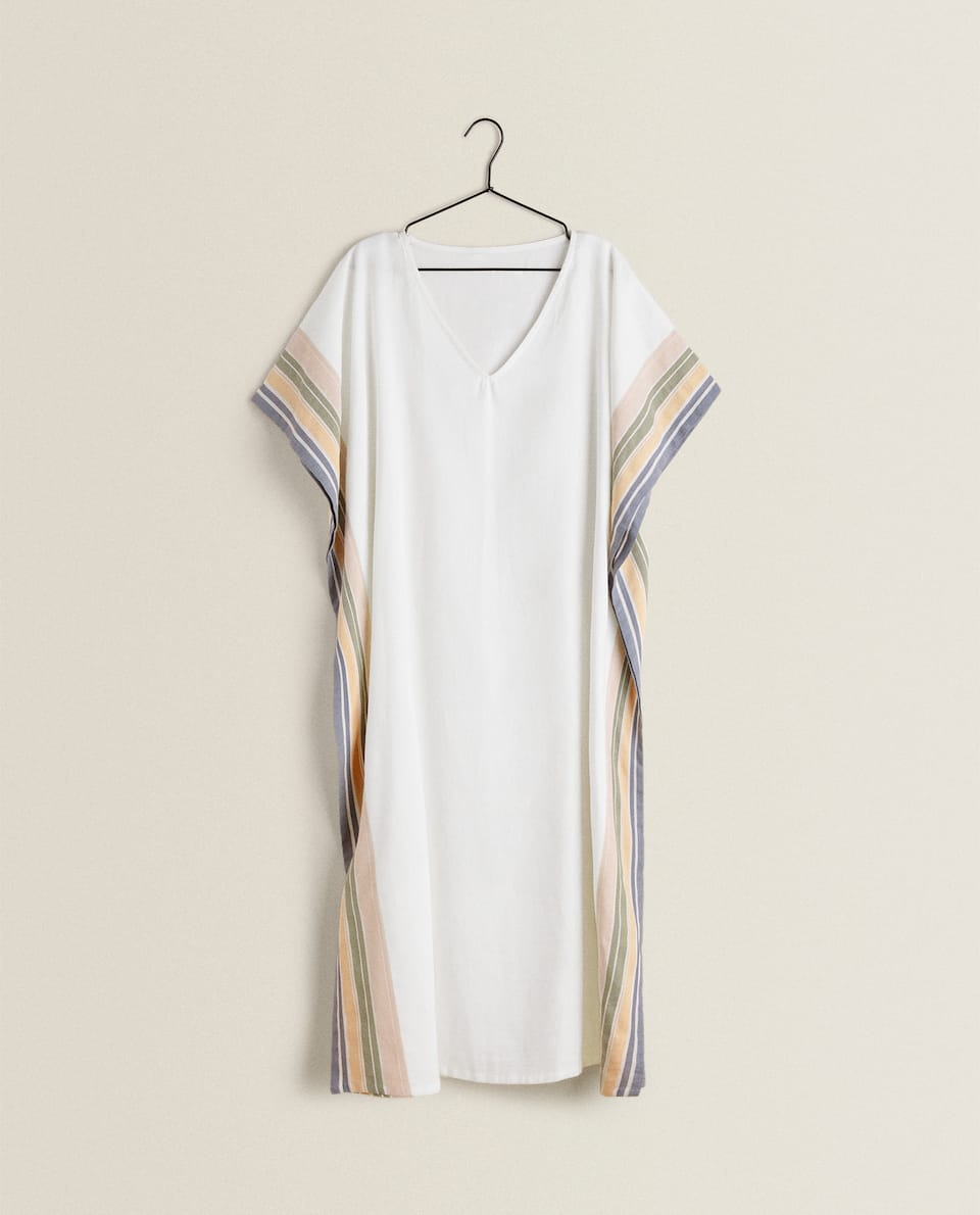 TUNIC WITH SIDE STRIPES