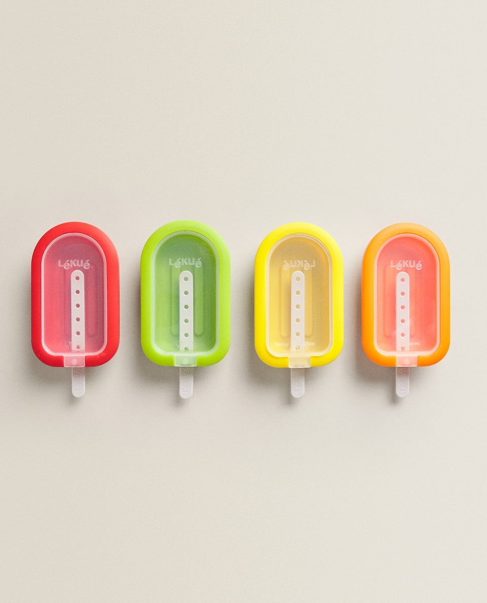 LÉKUÉ ICE CREAM MOULDS (PACK OF 4)