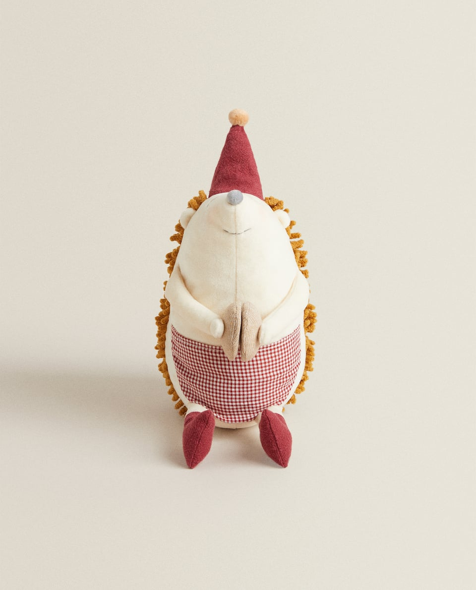 CHRISTMAS HEDGEHOG SOFT TOY