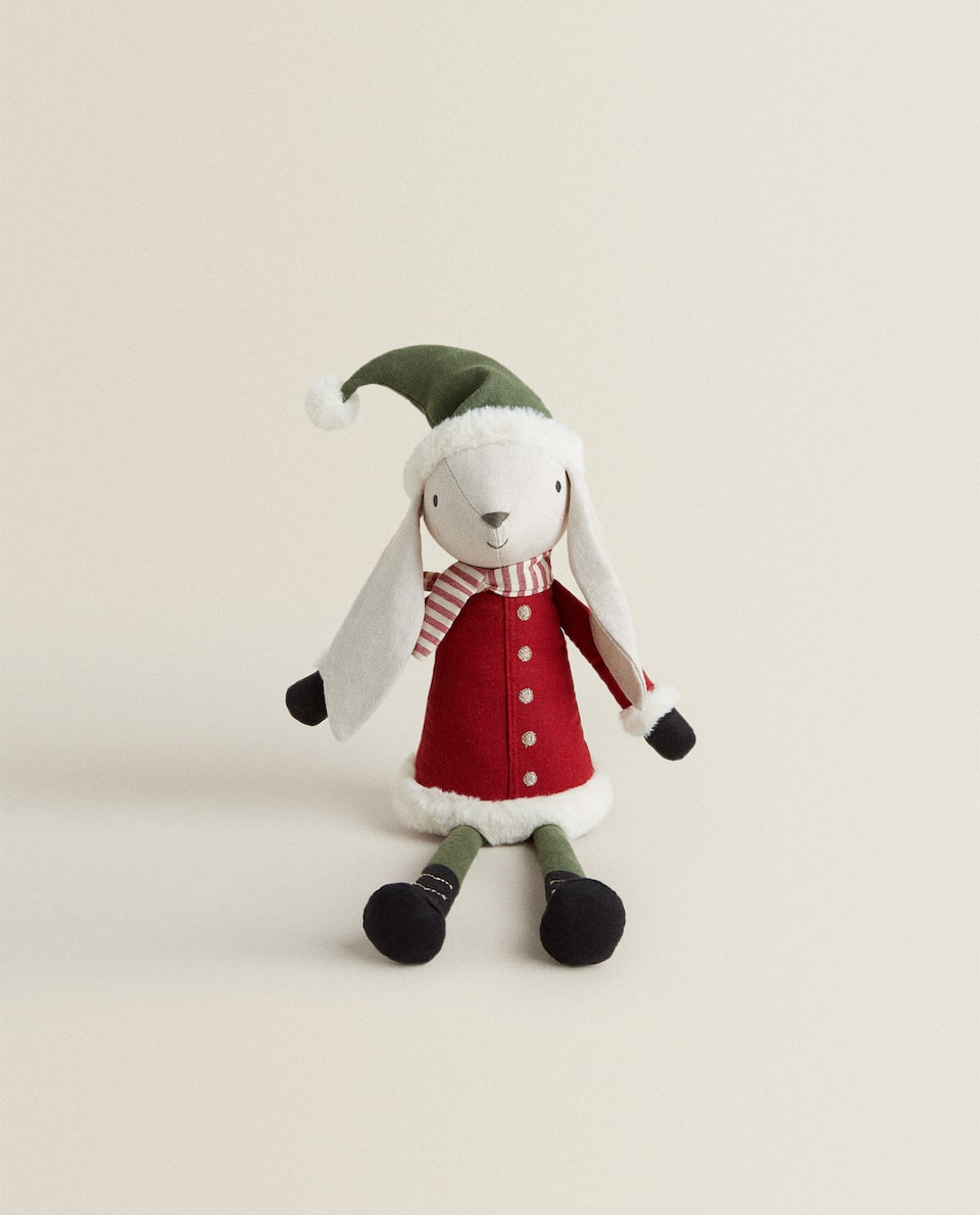 FATHER RABBIT PLUSH TOY