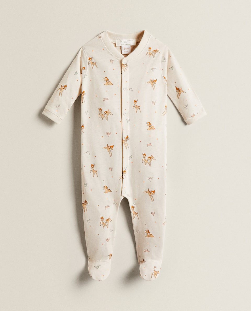 ROMPER WITH A BAMBI PRINT