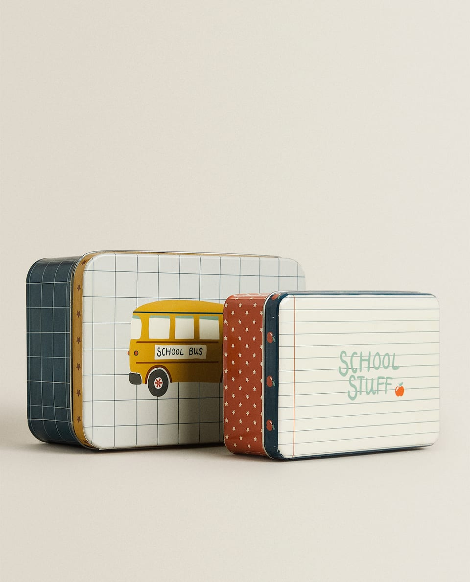 SCHOOL BUS METAL BOXES