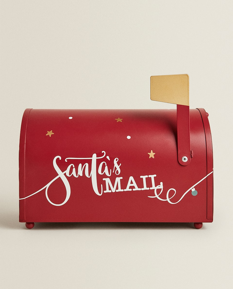 DECORATIVE CHRISTMAS LETTER BOX