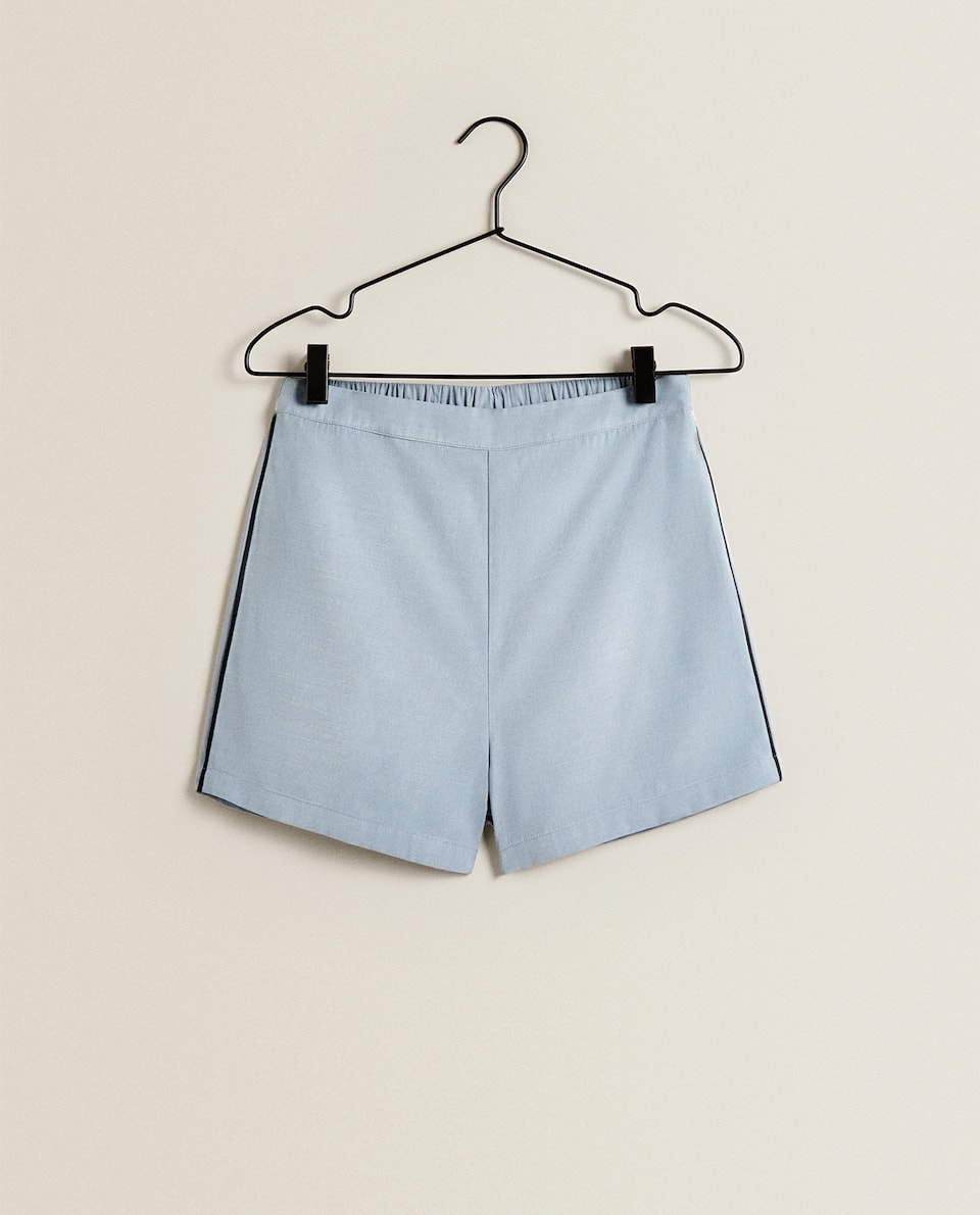SHORTS WITH TRIMS