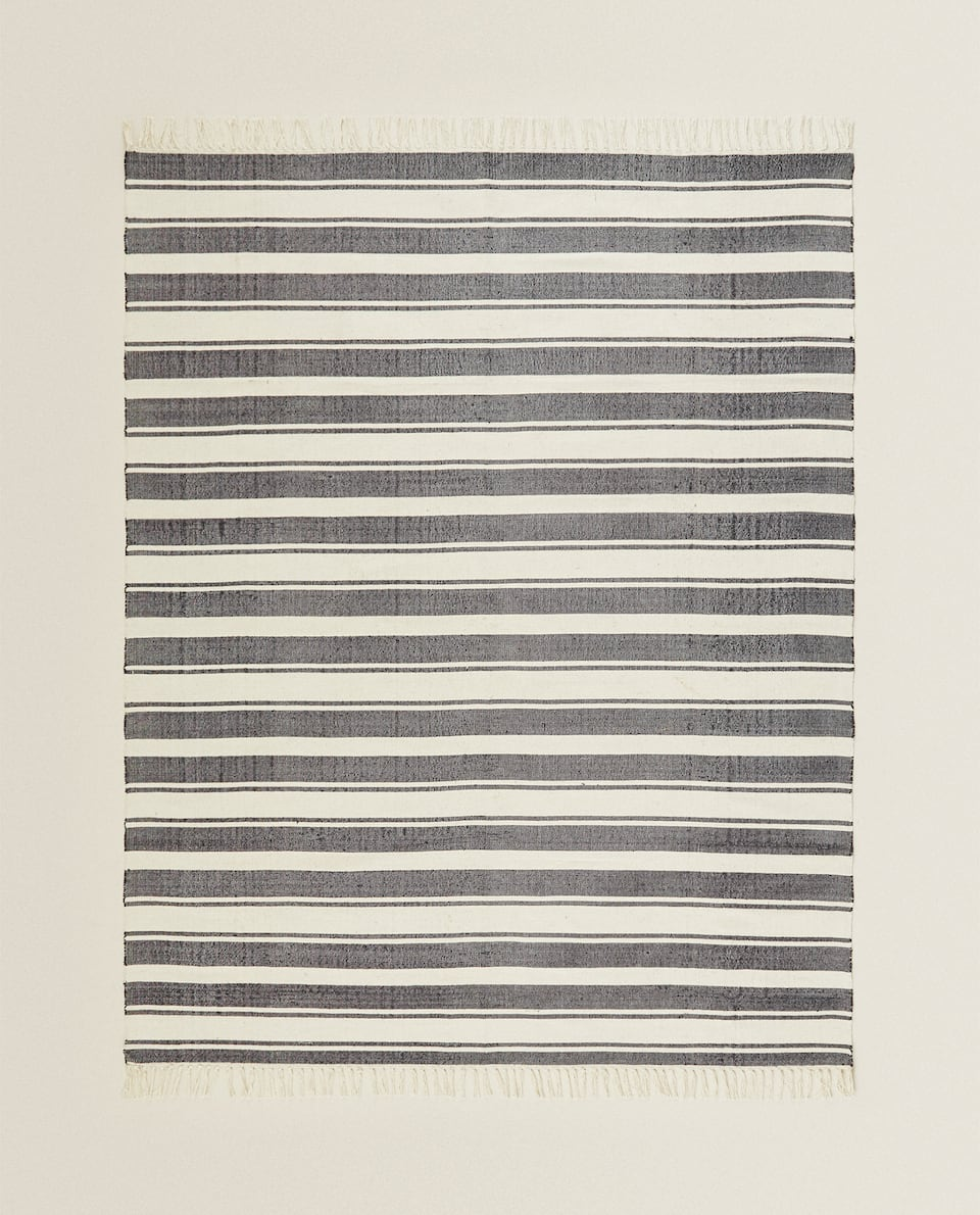 STRIPED COTTON RUG