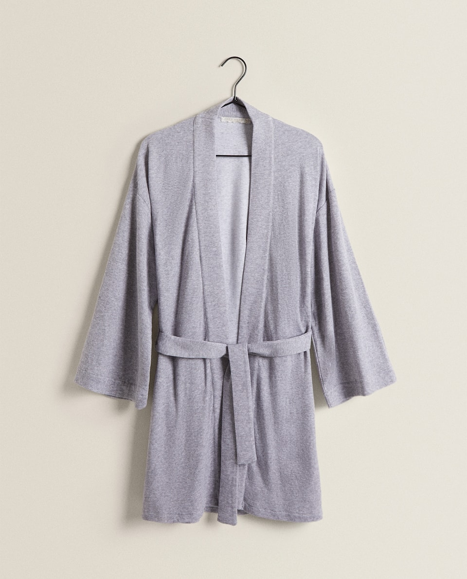 COTTON DRESSING GOWN