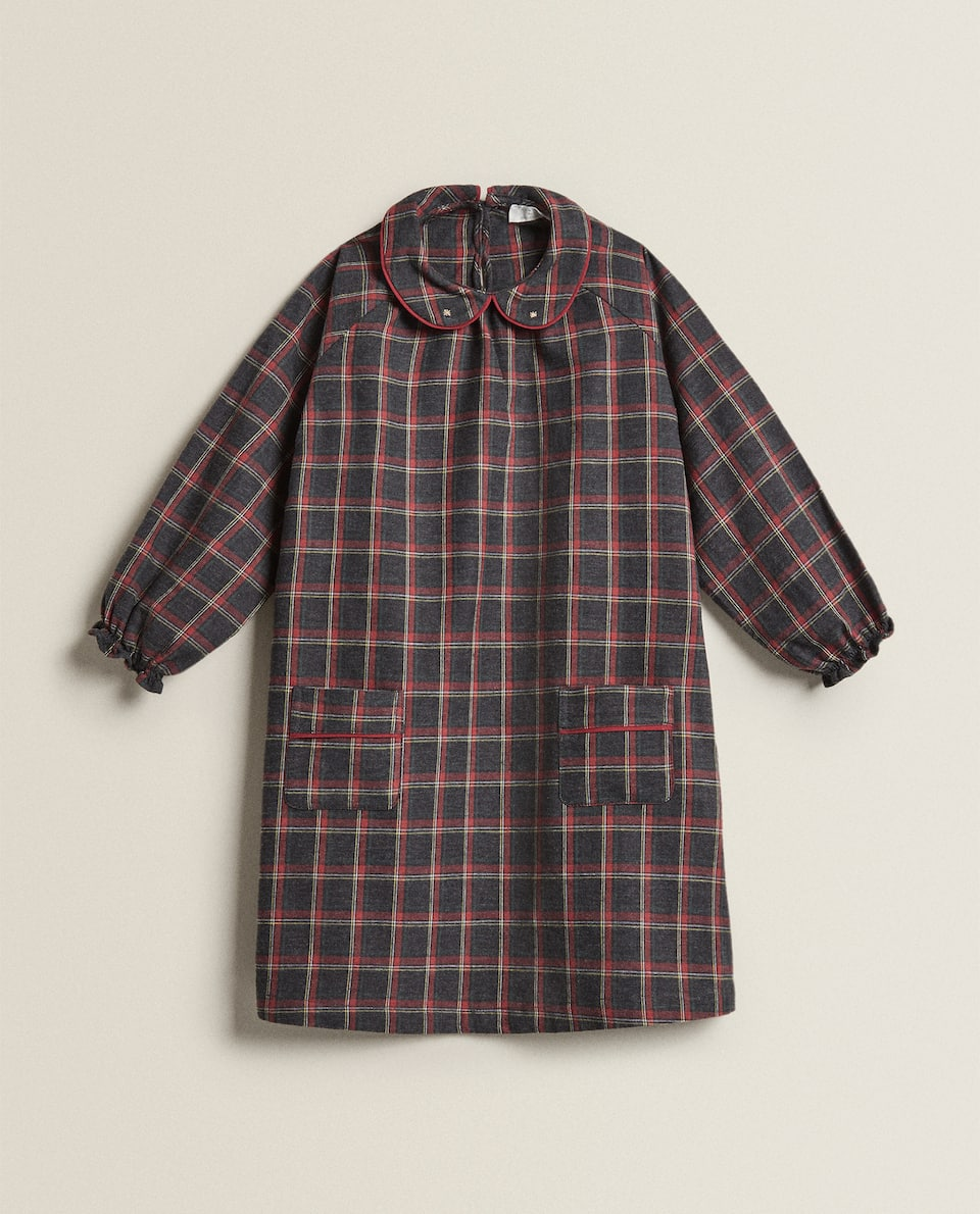 GIRL'S CHECK NIGHTDRESS