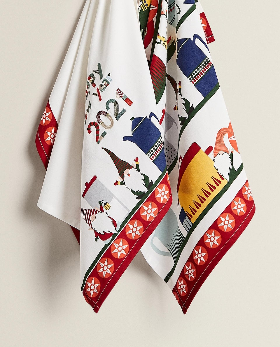 NEW YEAR TEA TOWEL (PACK OF 2)