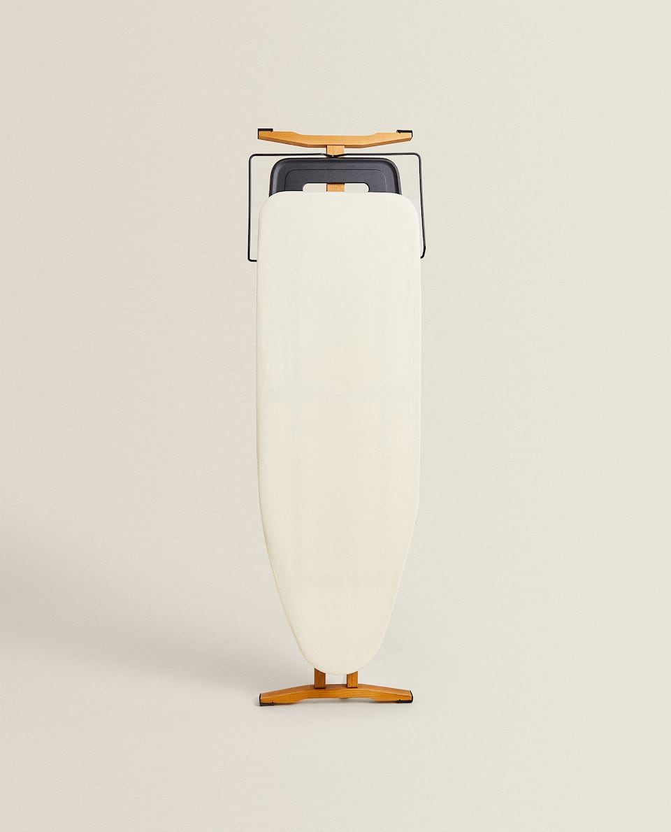 WOOD AND METAL IRONING BOARD
