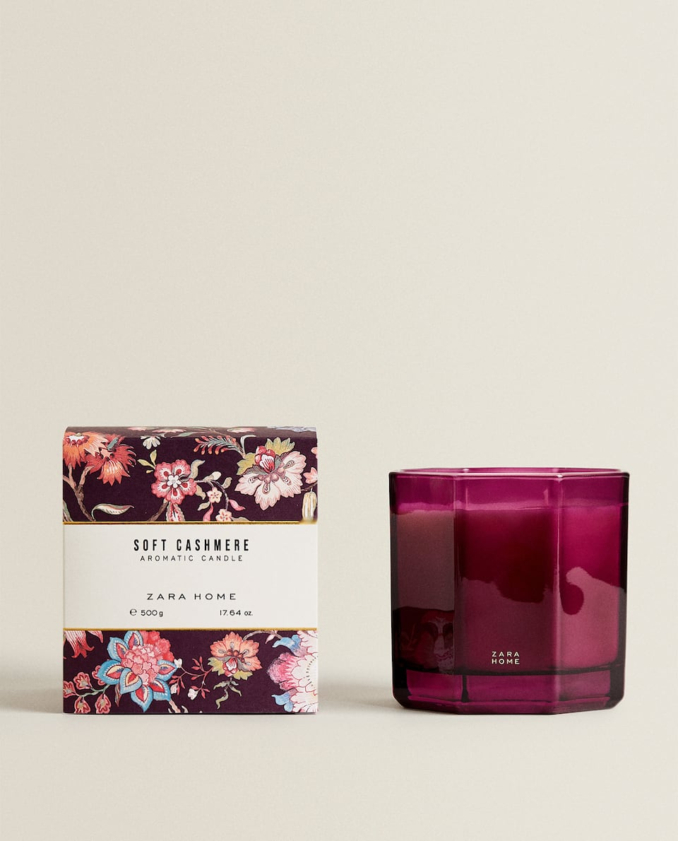 (500 G) SOFT CASHMERE SCENTED CANDLE