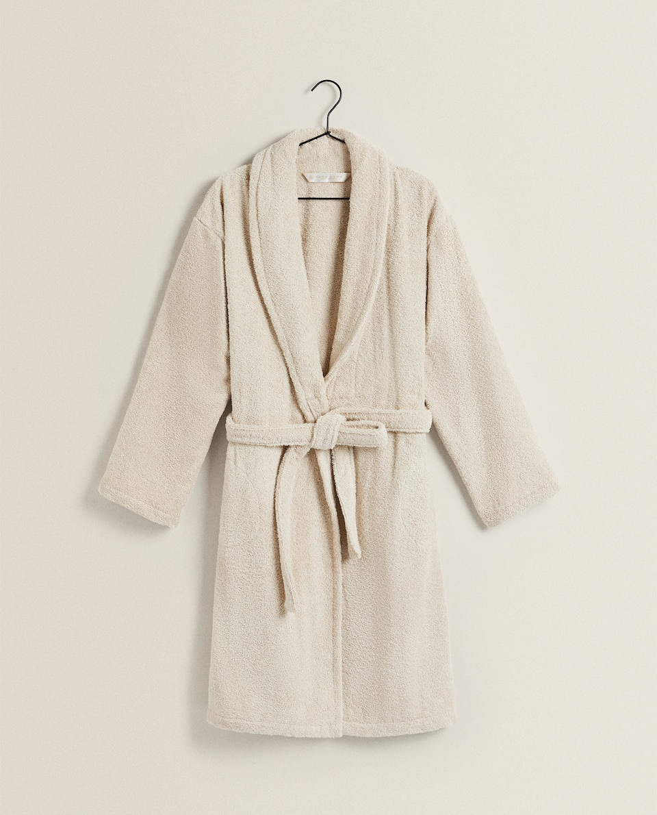 COTTON BATHROBE