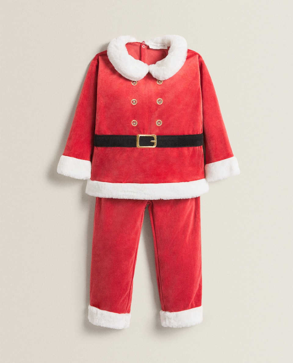 FATHER CHRISTMAS SET OF PYJAMAS