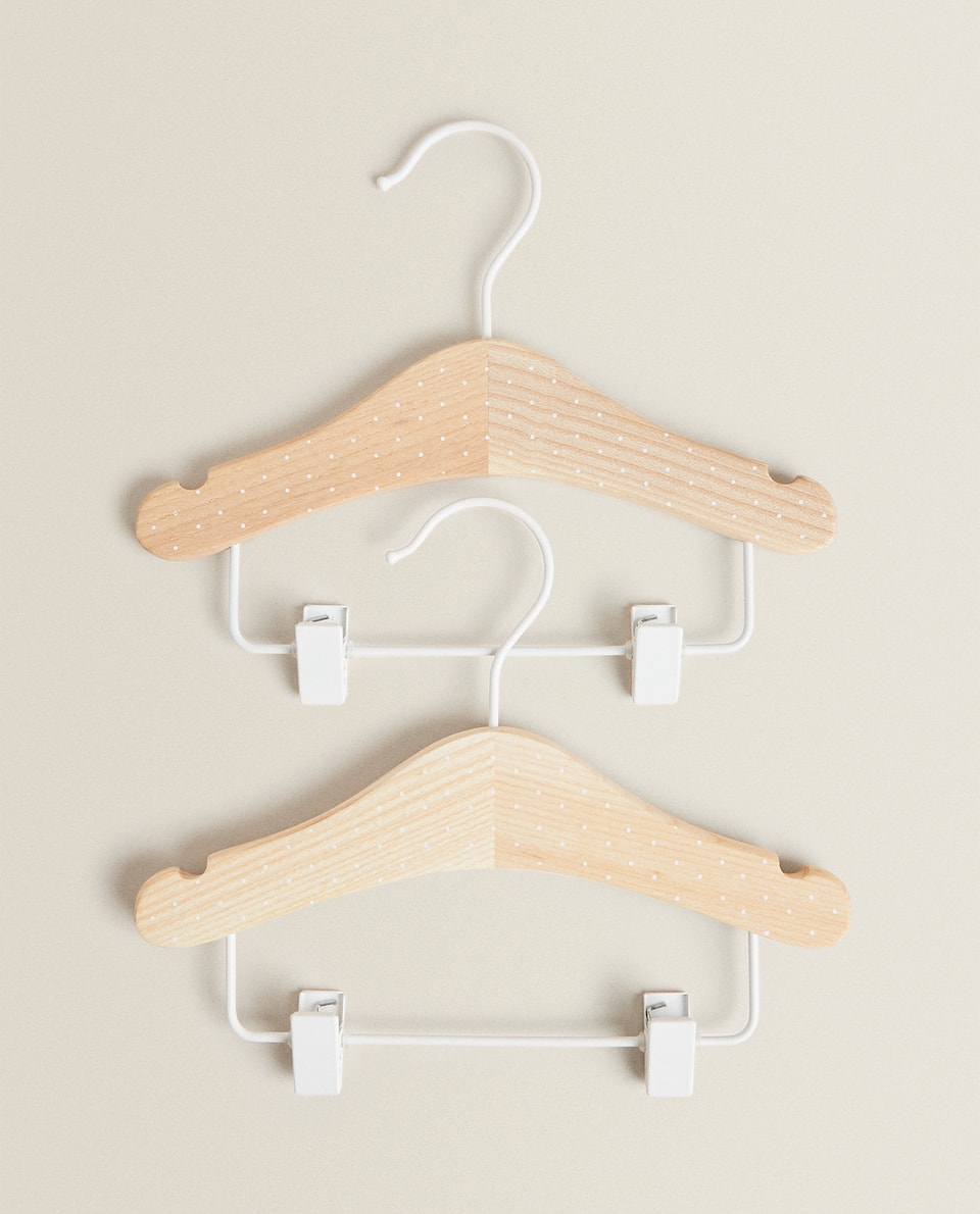 POLKA DOT SKIRT HANGER (SET OF 2)