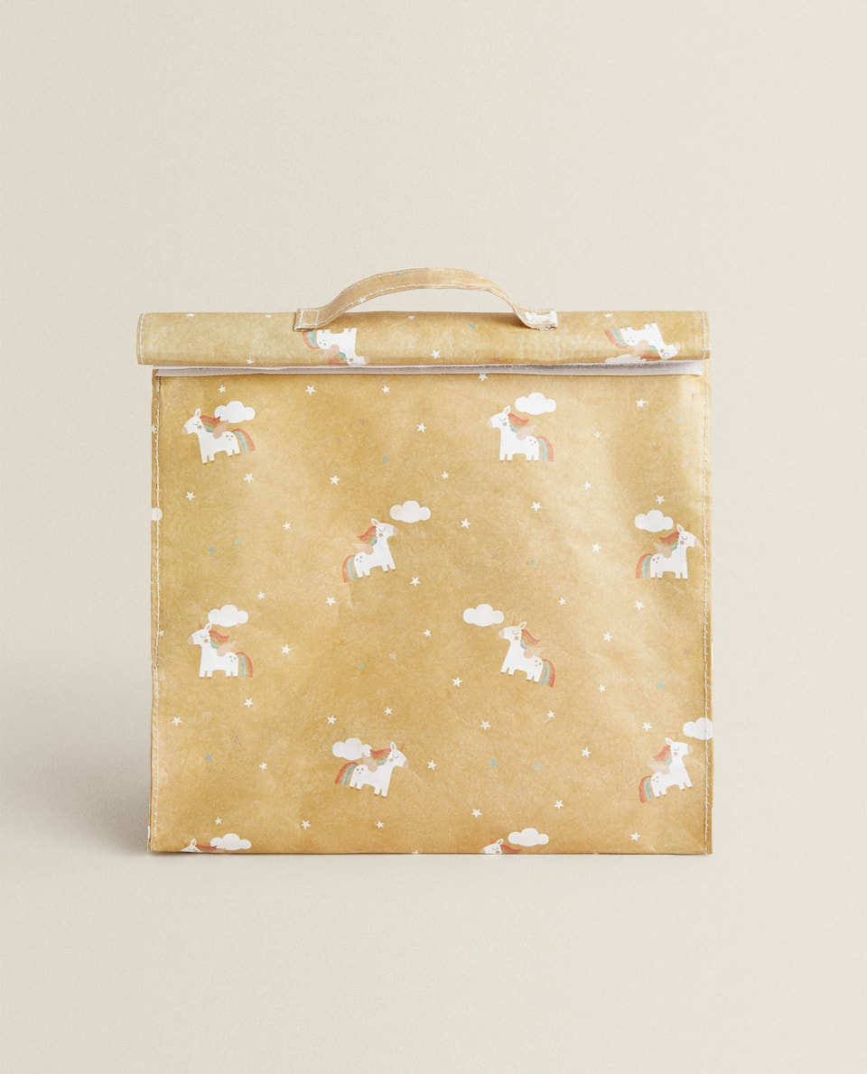 UNICORN PRINT COOLER BAG