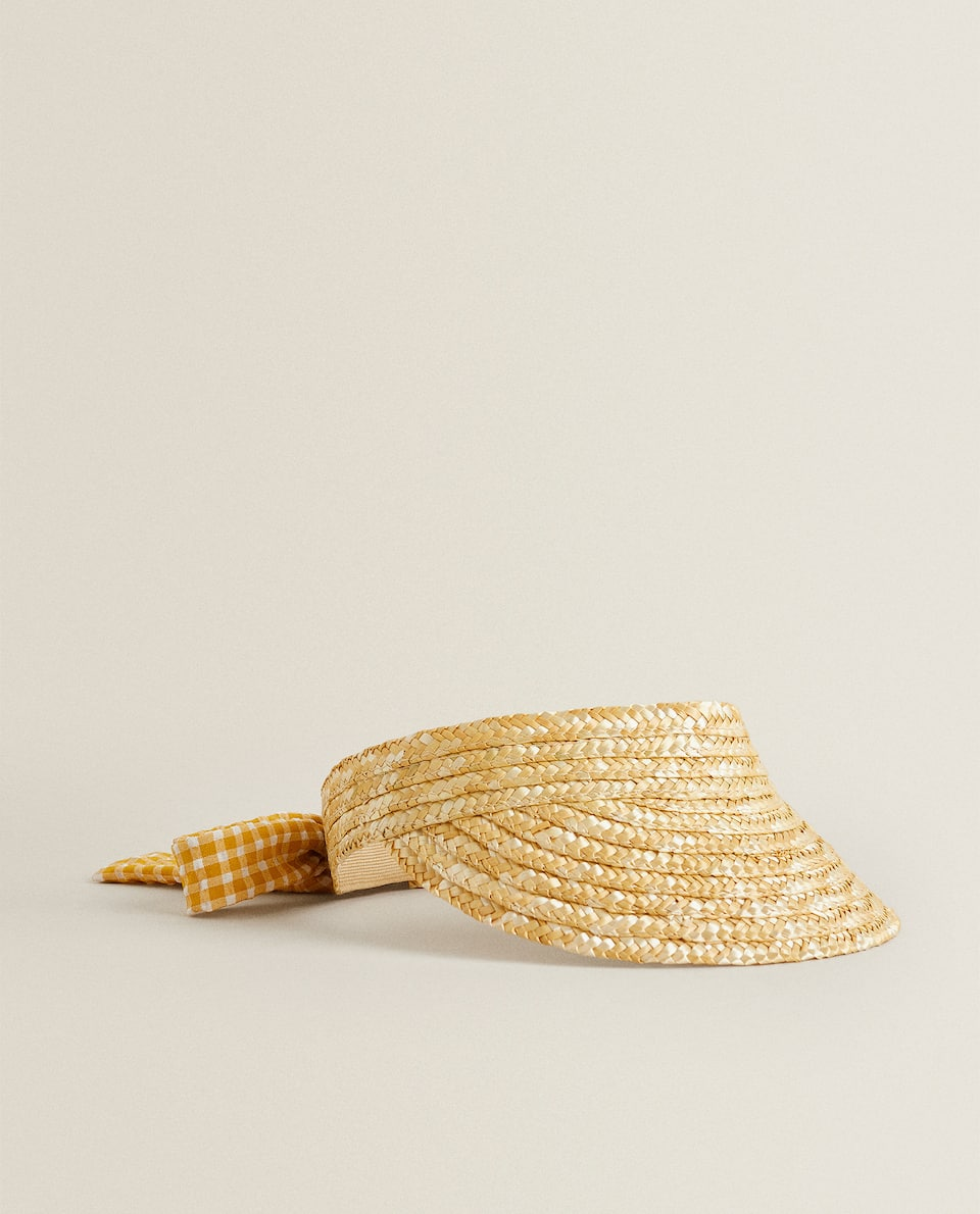 STRAW BEACH VISOR