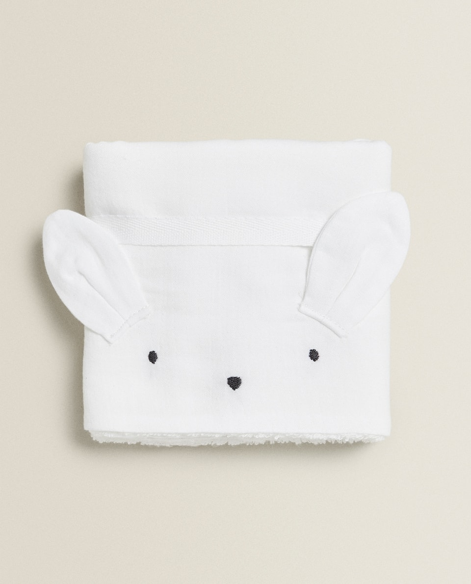 BUNNY RABBIT TOWEL (PACK OF 2)