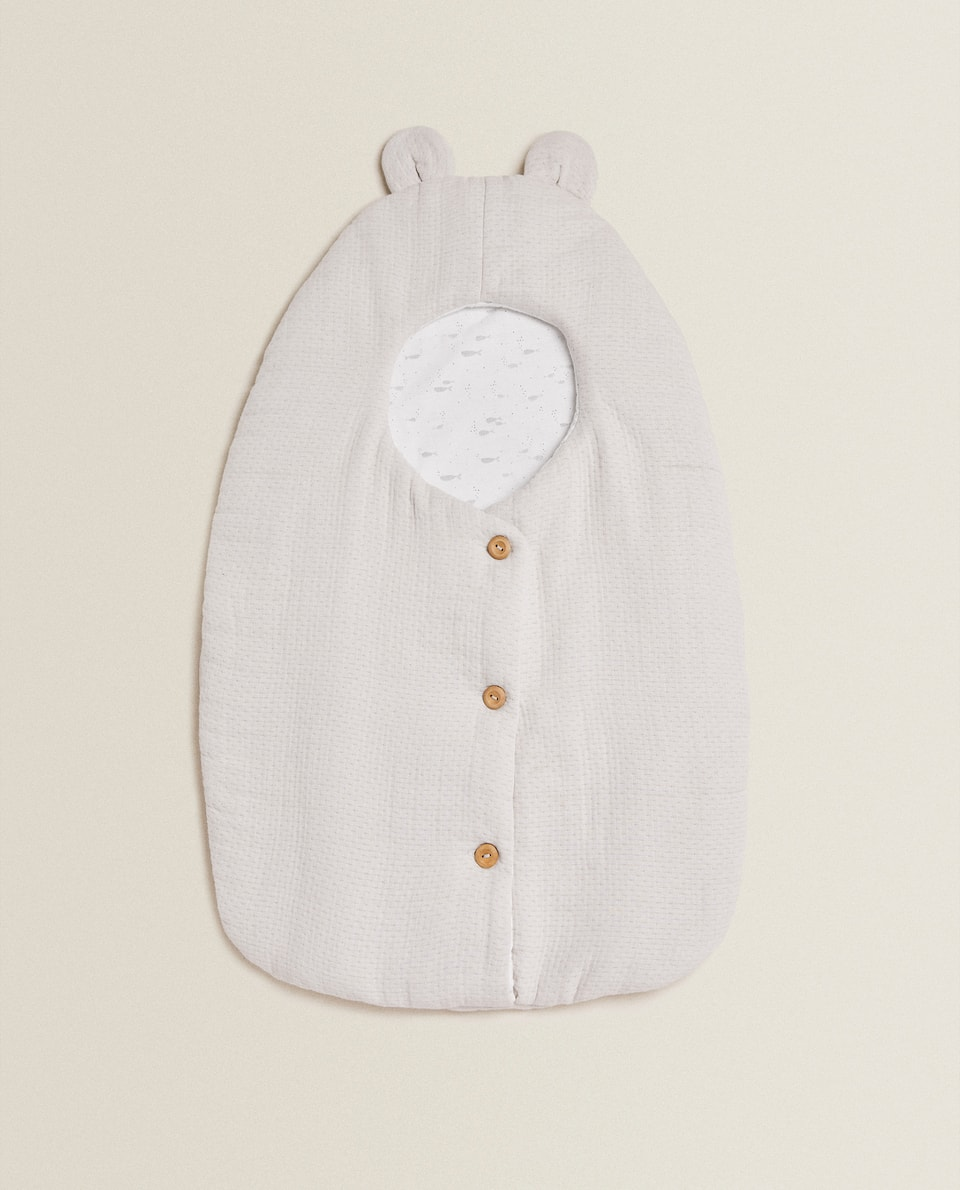 COTTON MUSLIN CARRYCOT BABY WRAP
