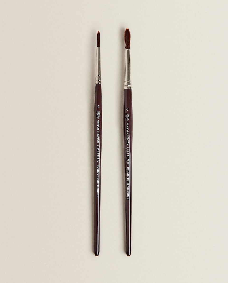 PINCEL PONTA REDONDA WINSOR AND NEWTON