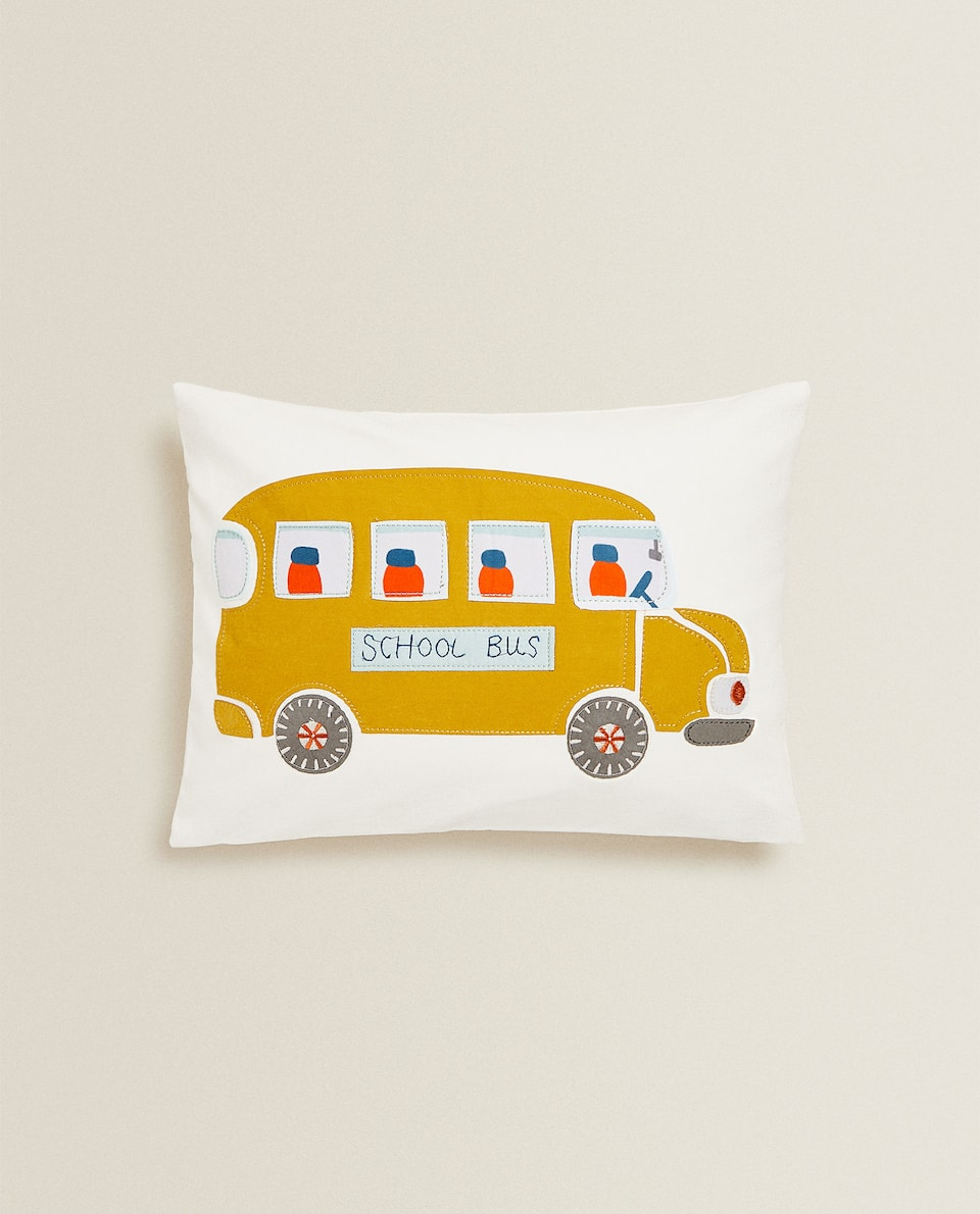 SCHOOL BUS CUSHION COVER