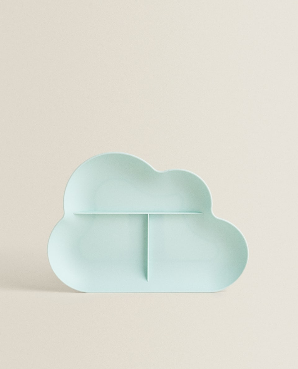 CLOUD-SHAPED PLATE