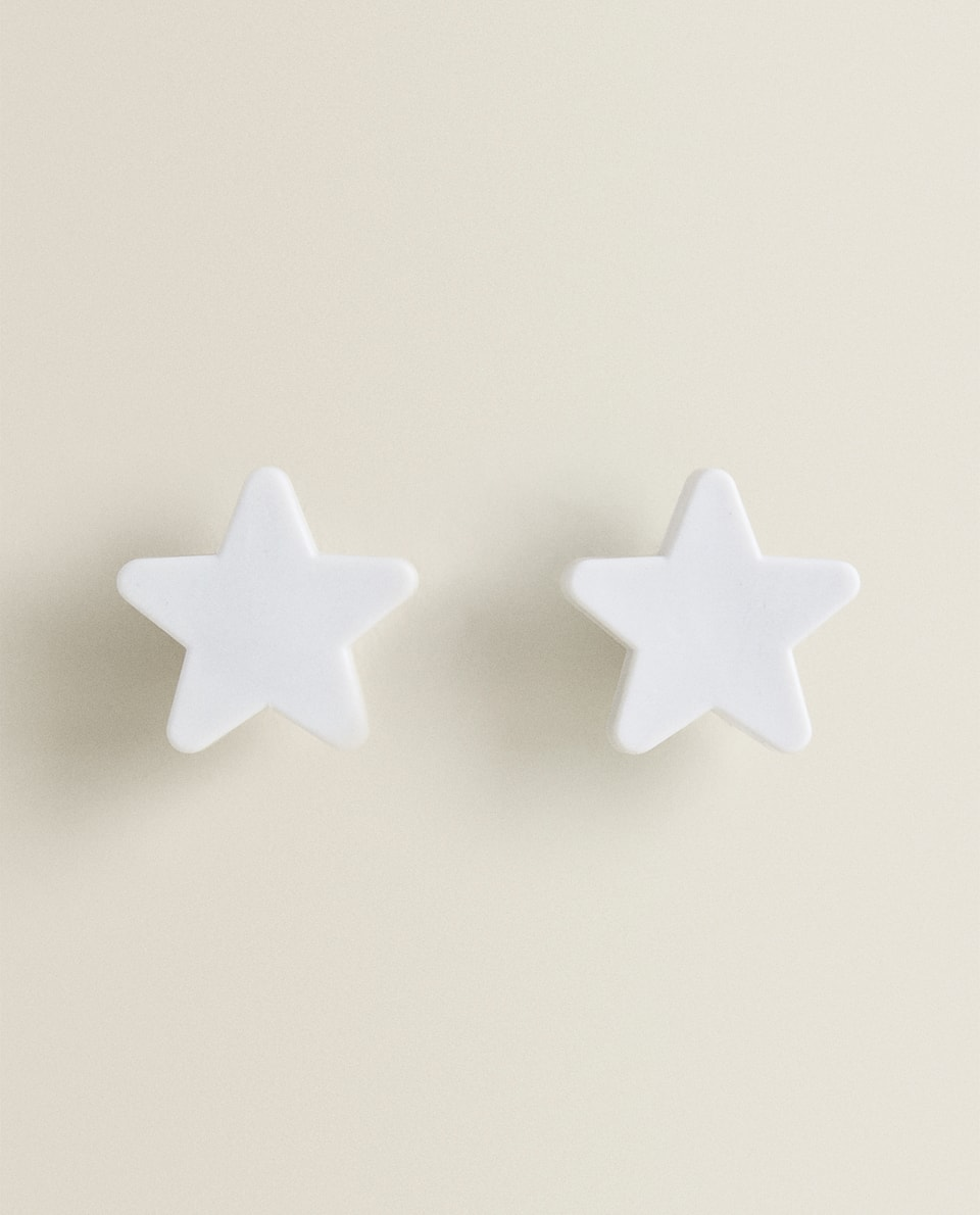 STAR DOOR KNOBS (SET OF 2)