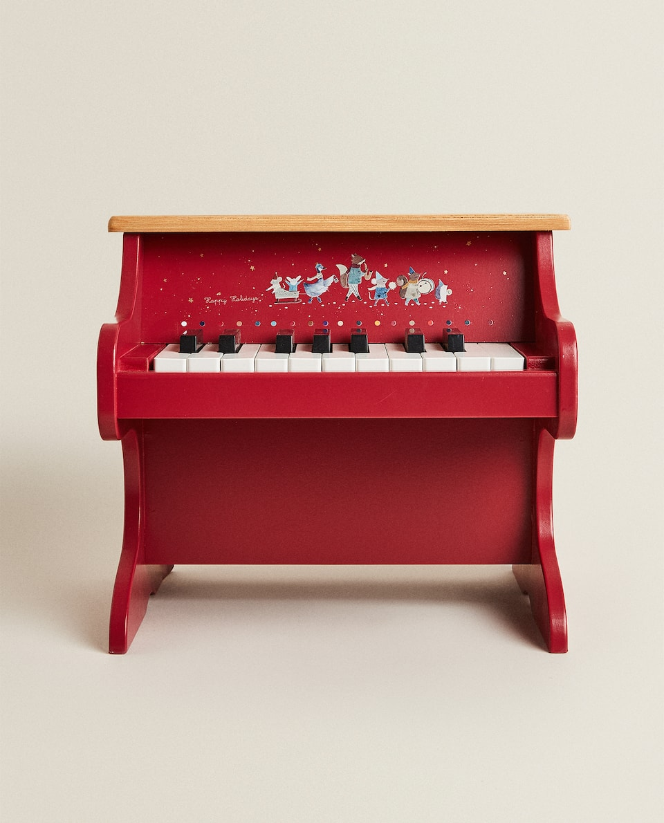 RED CHILDREN'S PIANO