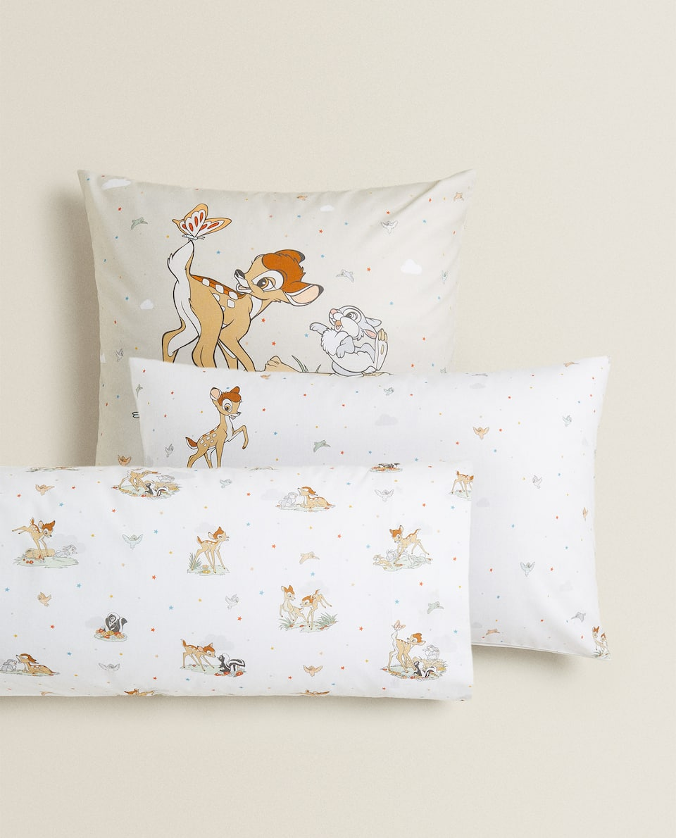 BAMBI PRINT PILLOWCASE