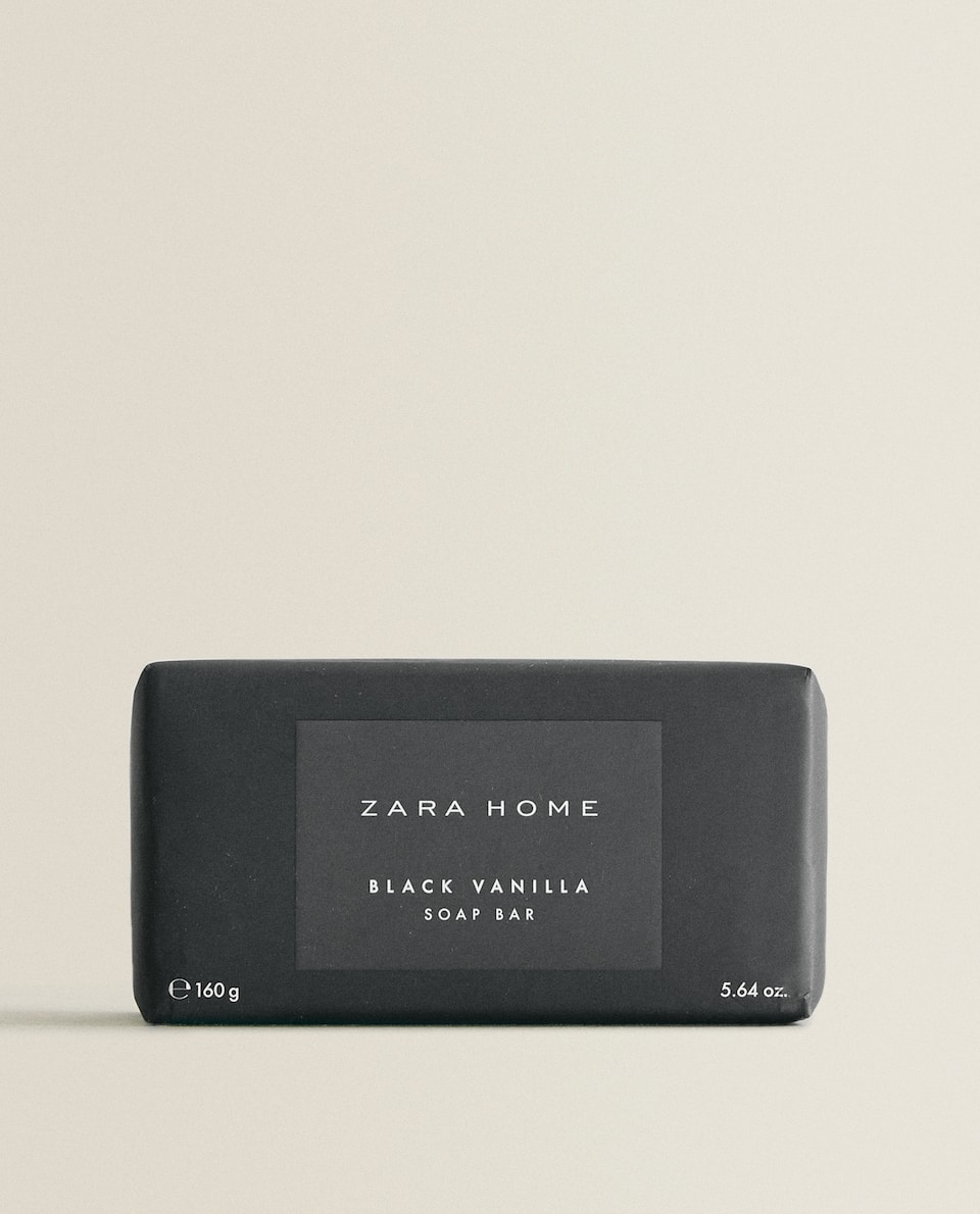 BLACK VANILLA SOAP BAR
