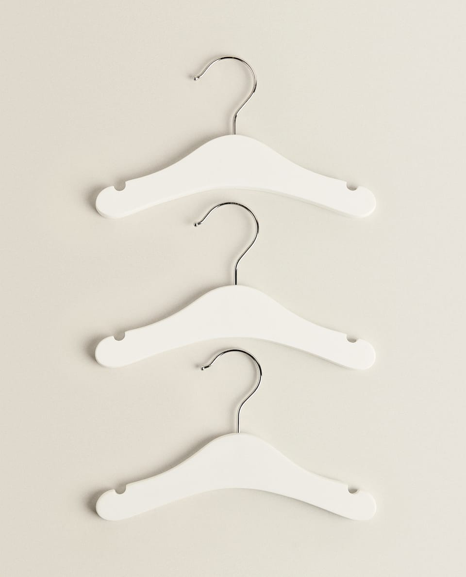 CLASSIC LACQUERED HANGER (SET OF 3)