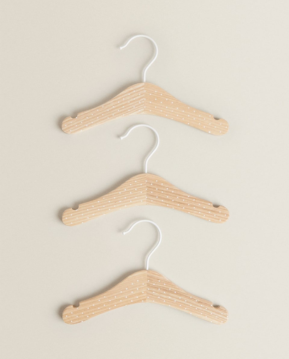 POLKA DOT HANGER (SET OF 3)
