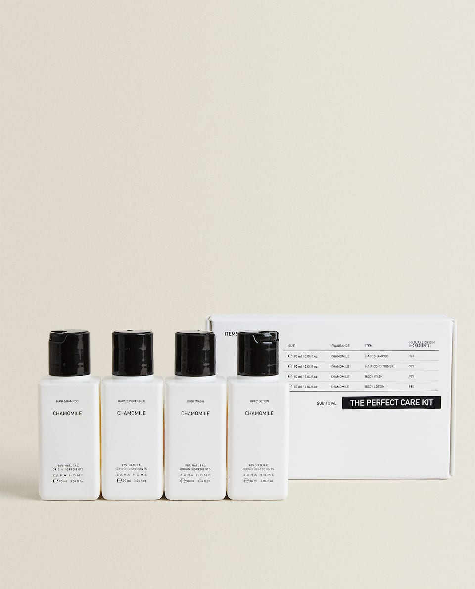 CHAMOMILE TRAVEL CARE KIT