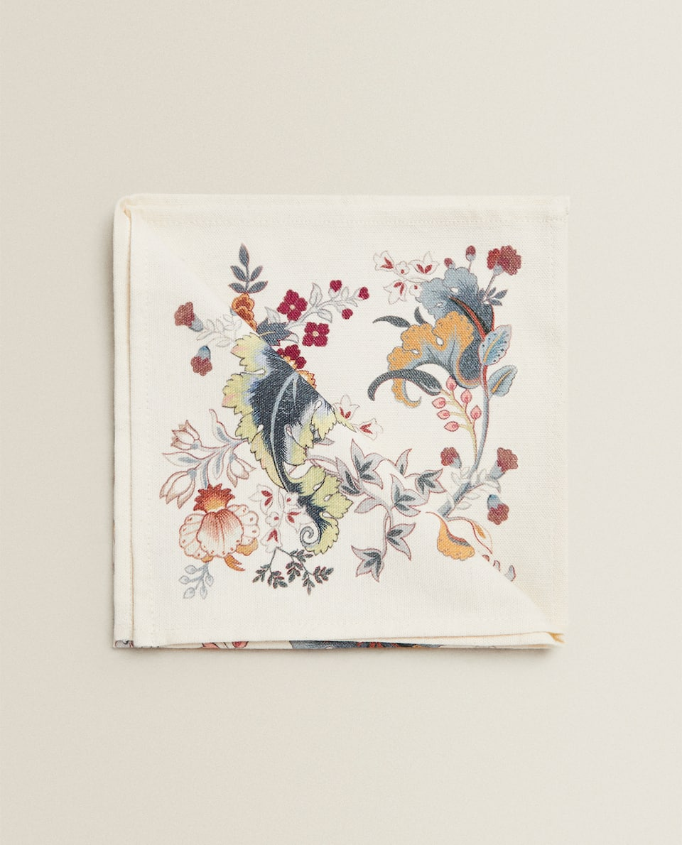 FLORAL COTTON NAPKIN